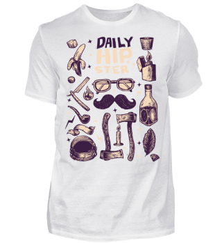 Daily Hipster T shirt