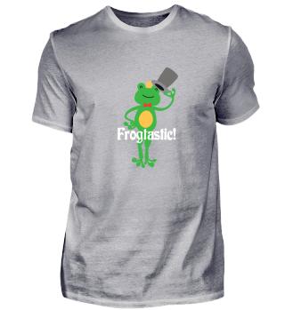 Frogtastic Funny Frog Tee Gift
