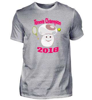 Tennis Champion oder Champignon?
