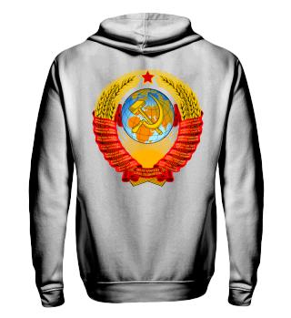 Russia UDSSR CCCP Russland Sowjet Hoodie