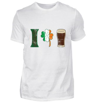 Irish like their beer and shamrock