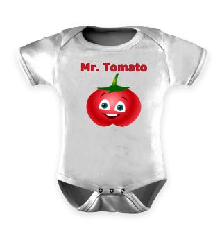 Mr. Tomato - tomato face motive - gift