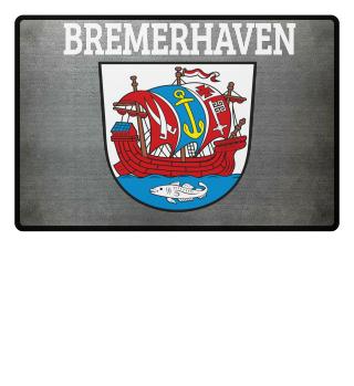 Bremerhaven Wappen Fussmatte