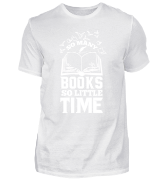 So many books so little time | Leseratte