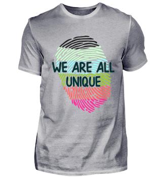 We are all unique