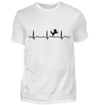 GIFT - ECG HEARTLINE HORSE UNICORN