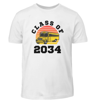 Class of 2034 Kindergarten Tee