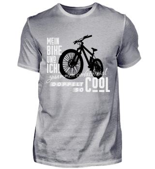 Mein Bike und ich cool Fahrrad Geschenk