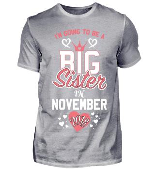 Pregnant Mom Big sister in November