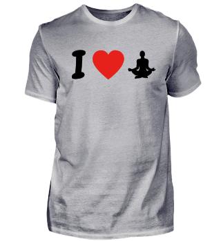 Ich liebe yoga geschenk geburtstag liebe
