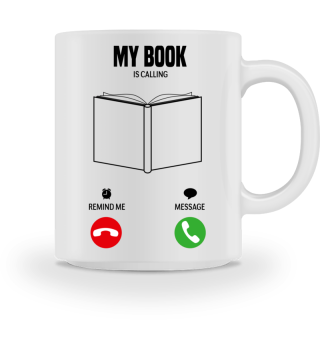 My book is calling! gift