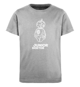 JUNIORDOKTOR T-Shirt blau/pink/schwarz