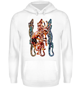 ★ Kokopelli Musican Lizards I
