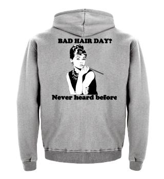 Bad hair day shirt women