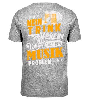 Mein Trinkverein hat ein Musikproblem