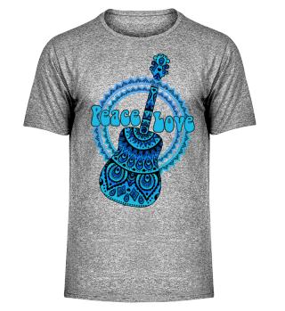 Flower Power - Folklore Mandala Guitar 3