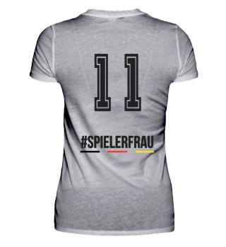 Spielerfrau Fußball Shirt
