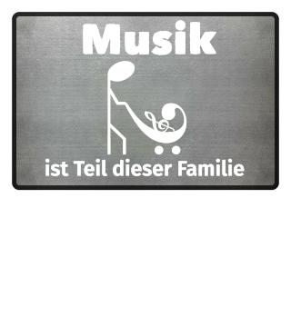 Musiker Fußmatte
