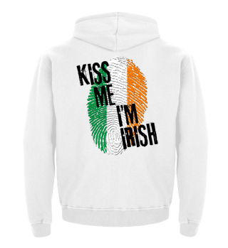 KISS ME I'M IRISH - Flag Fingerprint