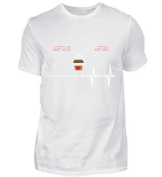 Before After Coffee Heartbeat