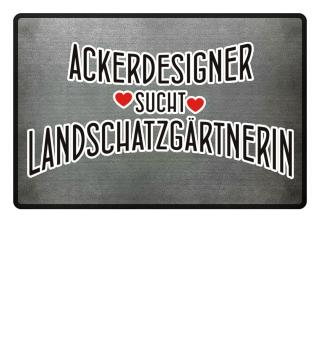 Ackerdesigner sucht Lanschatzgärtnerin