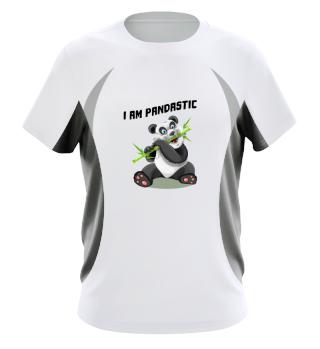 i am pandastic panda zoo bamboo