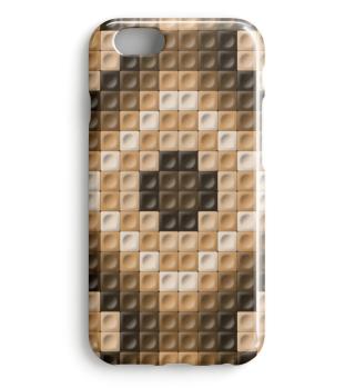 Braunes Smartphone Muster 0027