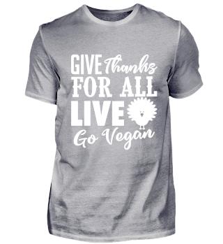 Go Vegan. Thanksgiving