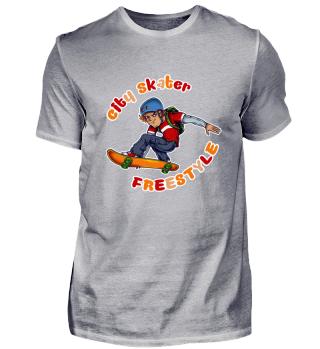 ☛ CITY SKATER · FREESTYLE #3B