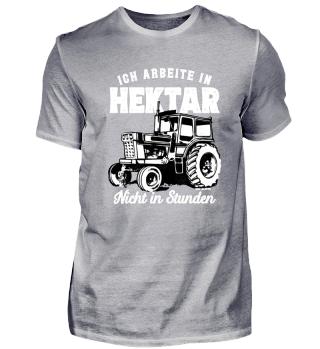 Ich arbeite in Hektar Landwirt Geschenk