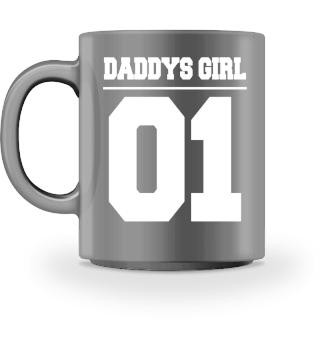 Daddys Girl Vater Tochter Tasse Partner