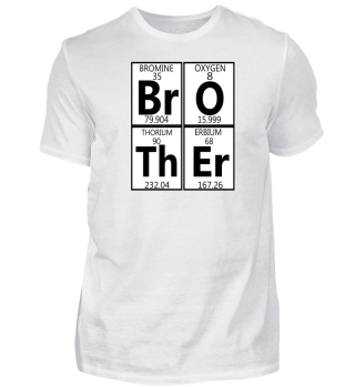 Brother Nerd Chemicalist Periodesystem