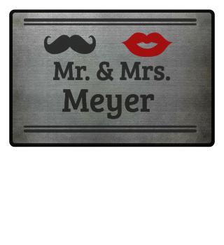 Mr. & Mrs. Euer Nachname