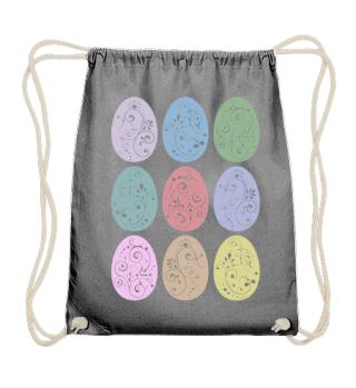 ★ Nine Boho Ornaments Easter Eggs 12