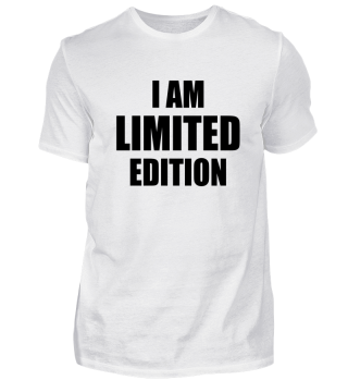 ☛ I AM LIMITED EDITION #1S