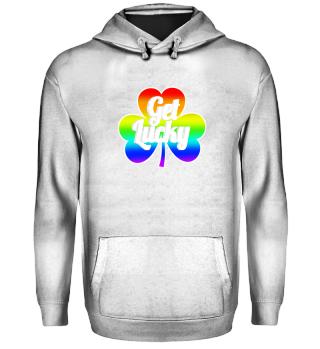Get Lucky Shirt - Clover Gift