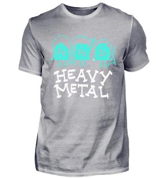 Heavy Metal Sänger Rock Musik Lustig