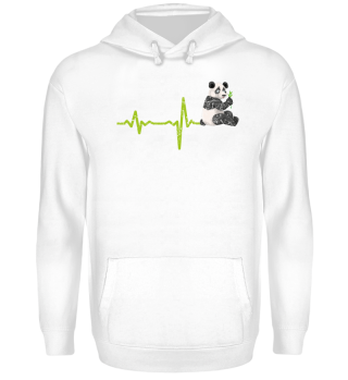 Geschenk Heartbeat Panda