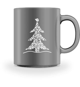 Saarland - Weihnachtsbaum - Tasse