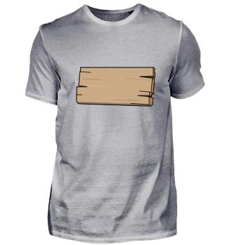 Brett Planke Holz Schild