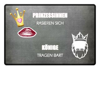 PRINZESSIN & KÖNIG - Fußmatte