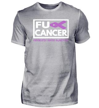 Fck Cancer Shirt pancreatic cancer