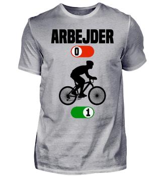 Arbejder cykel gave t-shirt