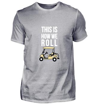 Golfer Shirts Geschenk Golf lustig
