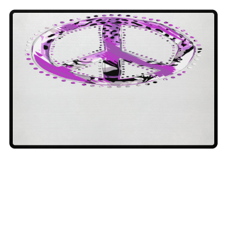♥ Peace Sign - Animal Print III