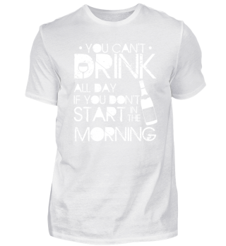 FUNNY BARTENDER SHIRT | YOU CANT DRINK