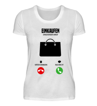 Telefon Einkaufen ruft mich! Geschenk