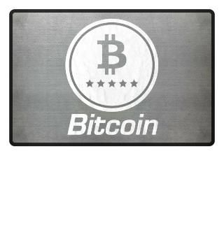 Bitcoin Vintage Logo Crypto-Currency