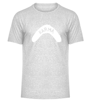 Melange Shirt All About Karma Herren