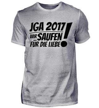 JGA Junggesellenabschied 2017 Hochzeit